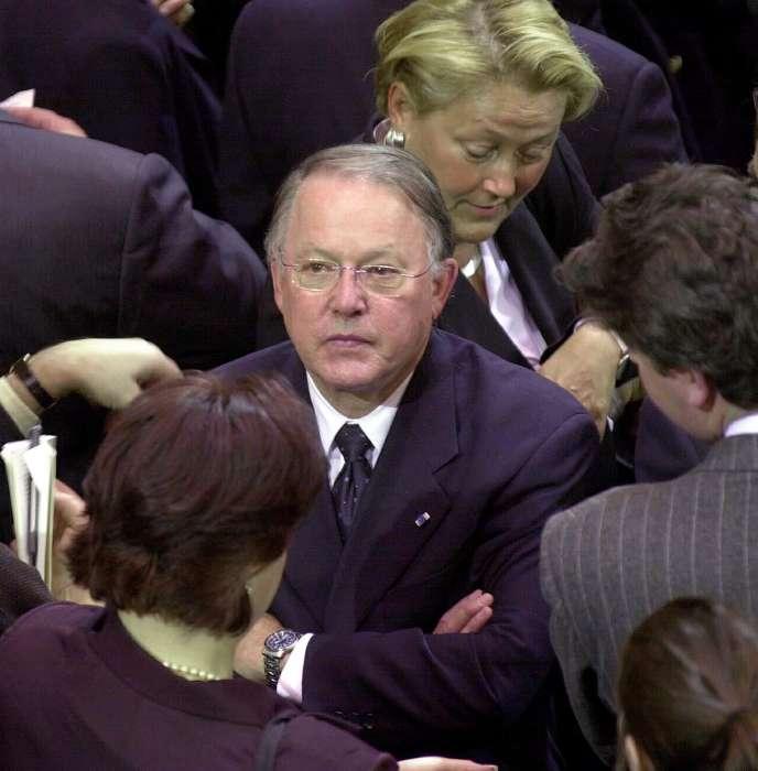 L'ancien premier ministre québécois, Bernard Landry.