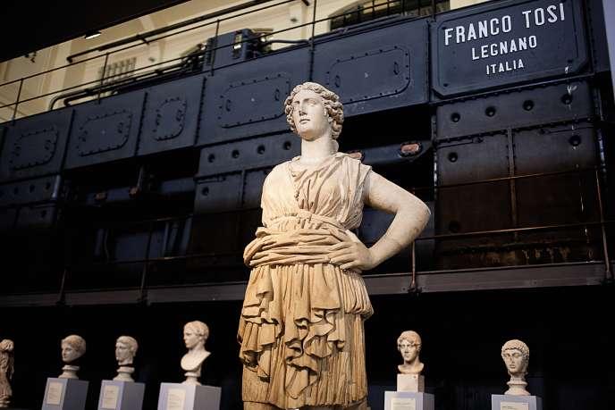 La Centrale Montemartini accueille un musée.