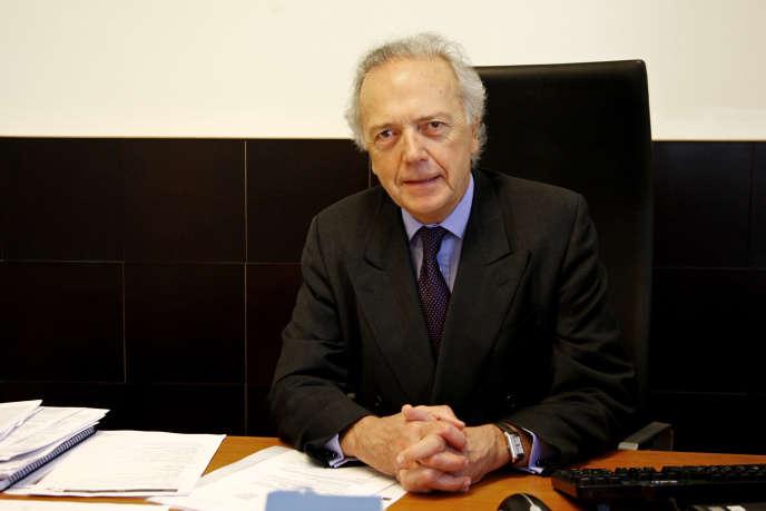 Edouard Carmignac, président de la société Carmignac Gestion, à Milan, en 2009.