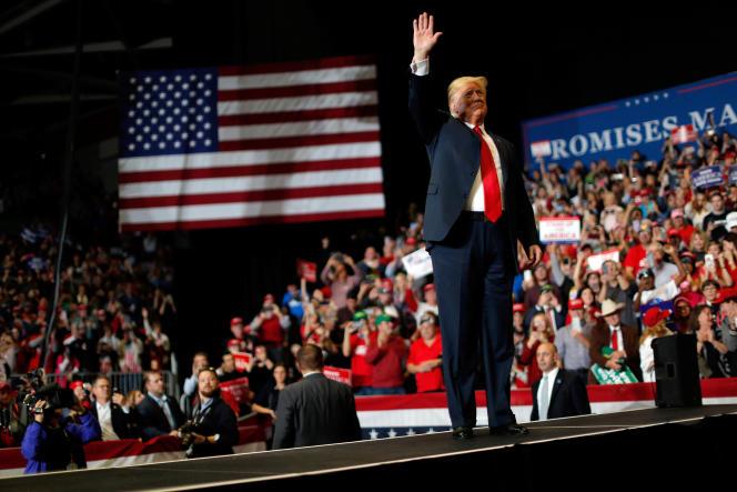 Le président Donald Trump, le 5 novembre à Cap Girardeau (Missouri).
