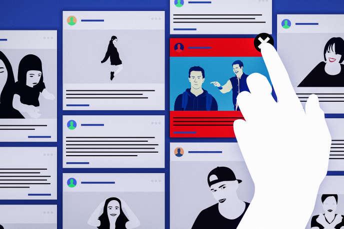 Les réseaux sociaux sont souvent critiqués pour la façon dont ils gèrent les contenus haineux.