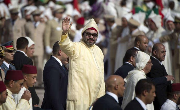 Le roi Mohammed VI à Tétouan, au Maroc, le 31juillet 2018.