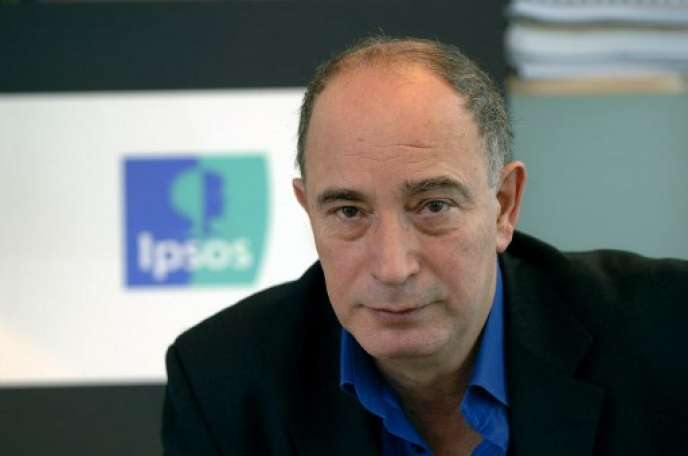 Didier Truchot, président d'Ipsos, au siège de l'entreprise.