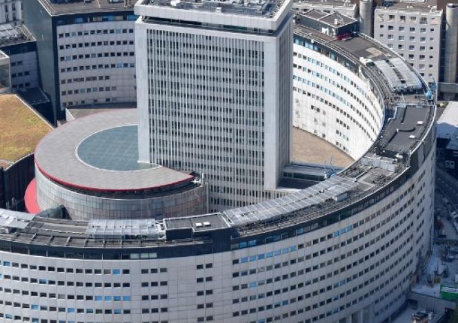 Le siège de Maison de la radio, à Paris, dans le 16e arrondissement.