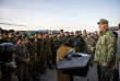 Lors de l'exercice de l'OTAN baptisé «Trident Juncture»; ) Stjordal, le 7 novembre 2018.