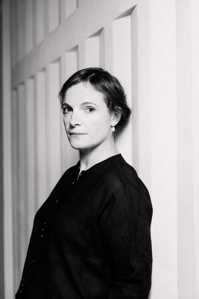 Alexandra Lepage, fondatrice des épiceries Papa Sapiens, à Paris.
