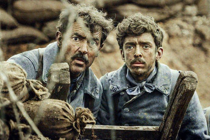 Albert Dupontel et Nahuel Pérez Biscayart dans« Au-revoir là-haut».