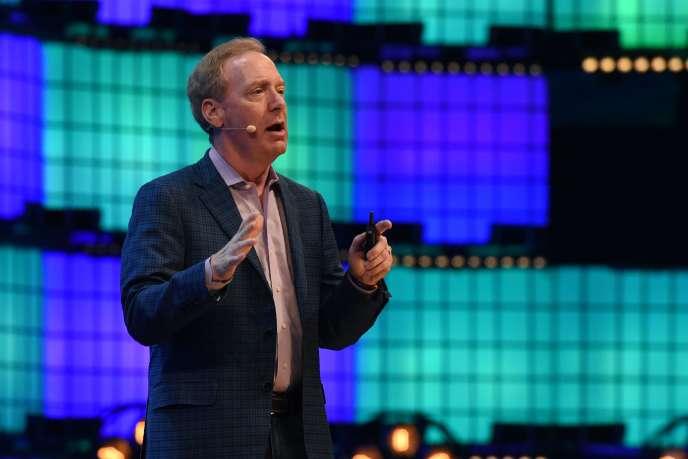 Brad Smith,président et directeur juridique de Microsoft.