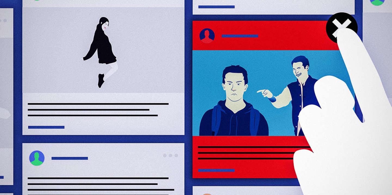 pixels facebook harcèlement moderation réseaux sociaux moderateur
