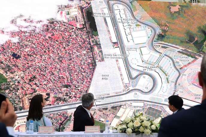 Présentation le 7 novembre du circuit d'Hanoï qui accueillera le premier Grand Prix du Vietnam en avril 2020.