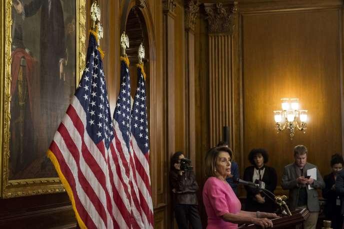 Nancy Pelosi, probable future présidente de la Chambre des représentants, le 7 novembre à Washington.