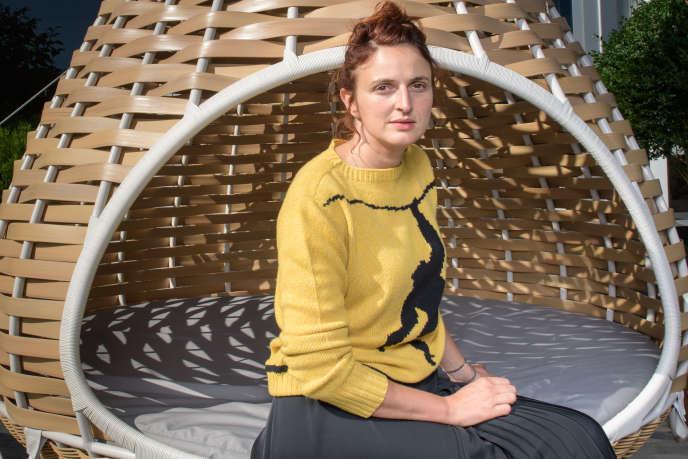 La réalisatrice Alice Rohrwacher lors de la présentation de son film«Heureux comme Lazzaro» au Festival du film de Zurich, le 27 septembre 2018.