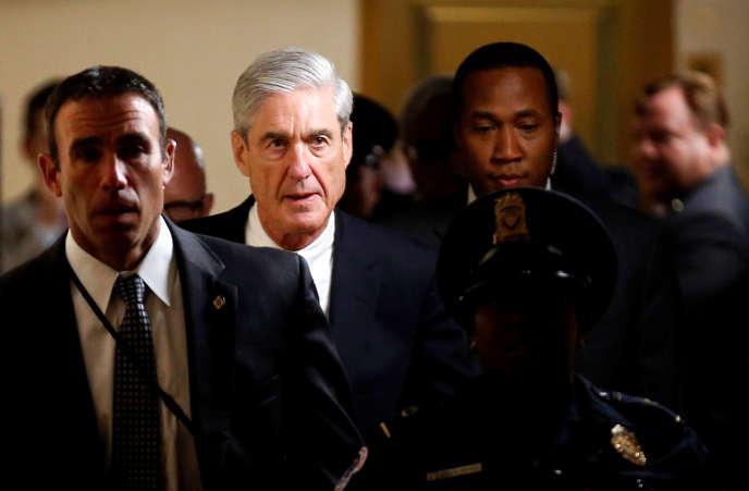 Le procureur spécial Robert Mueller, en juin 2017 à Washington.