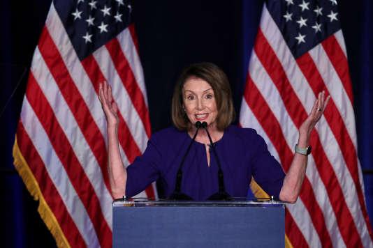 Nancy Pelosi, tête de file des démocrates à la Chambre des représentants, a elle aussi été réélue avec plus de 85 % des suffrages en Californie.