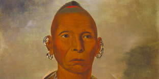 Portrait de Black Hawk (1767-1838), chef des Sauk.