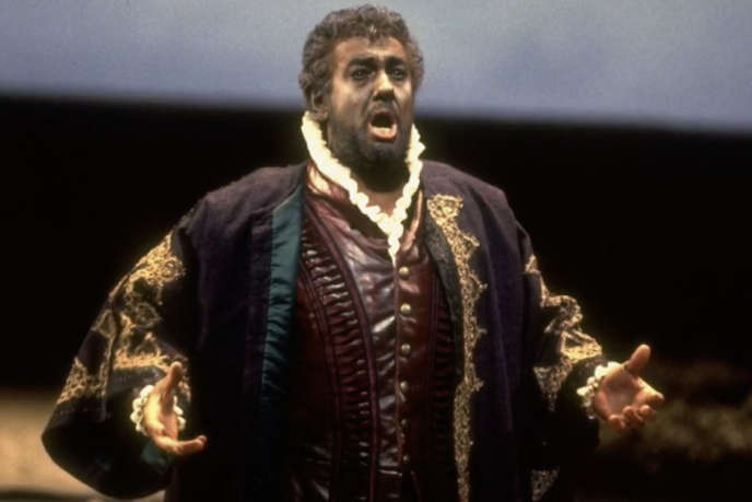Placido Domingo interprète « Othello ».
