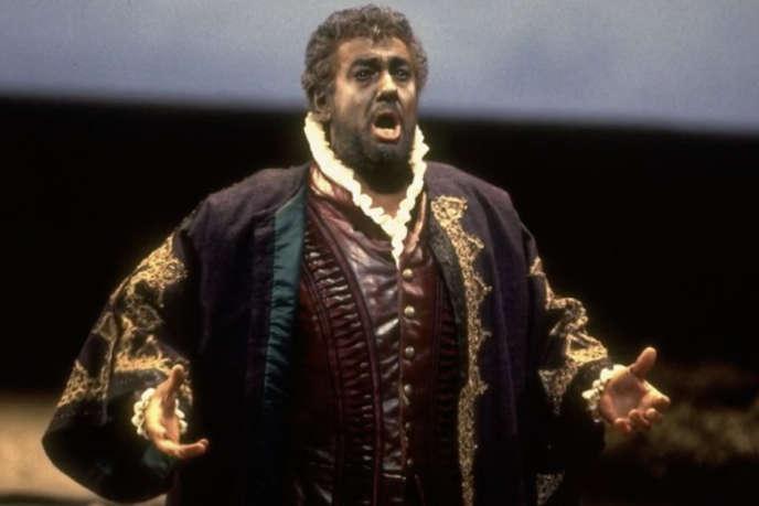 Placido Domingo interprète «Othello».