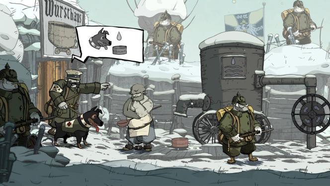 «Soldats inconnus» s'en remet à un style graphique à la Tardi pour évoquer la Grande Guerre, de manière humaine, drôle et touchante.