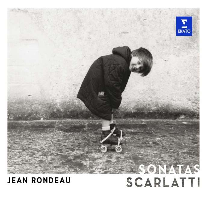 Pochette de l'album« Sonatas. Scarlatti», par Jean Rondeau (clavecin).