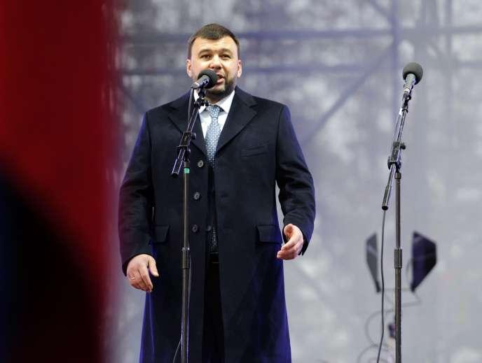 Denis Pouchiline, le 9 novembre à Donetsk.