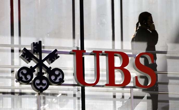 Le siège de la banque UBS, à Zurich (Suisse), en 2012.