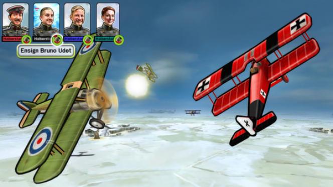 « Ace Patrol» donne à la guerre un ton léger, presque inoffensif, caractéristique des jeux Sid Meier.