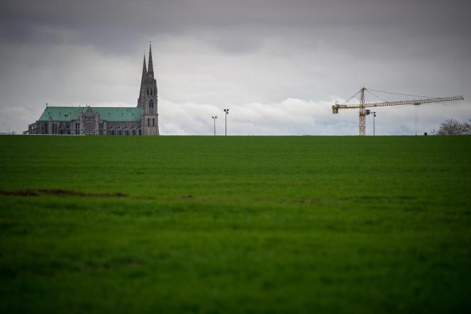 La cathédrale de Chartres (Eure-et-Loir), en février 2017.