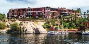 A l'hôtel Old Cataract (Egypte), la suite Agatha Christie est un appartement, le plus beau de l'établissement.