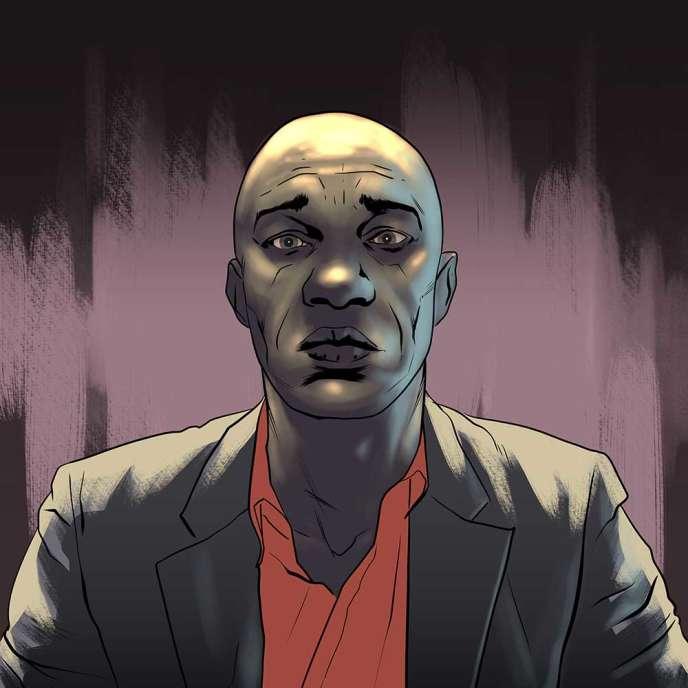 Le journaliste congolais Ghys Fortuné Bemba, qui a passé dix-huit mois en prison à Brazzaville.