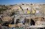 Un chantier à Maale Adoumim, une colonie israélienne en Cisjordanie occupée, en février 2017.