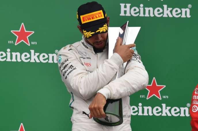 Mercedes a conquis son 5e titre des constructeurs de Formule 1