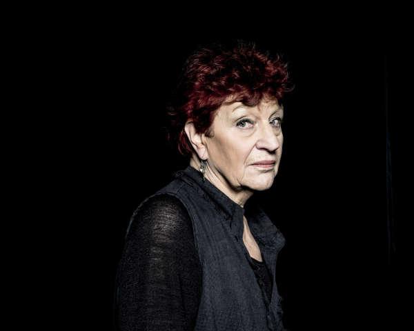 La chanteuse Anne Sylvestre, à Paris, le 4 janvier 2014.
