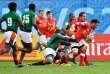 Les vedettes du rugby à 7 du Kenya, intégrés à la sélection à quinze, n'ont fait illusion qu'une mi-temps, dimanche 11 novembre à Marseille, face à un Canada patient et puissant (65-19).