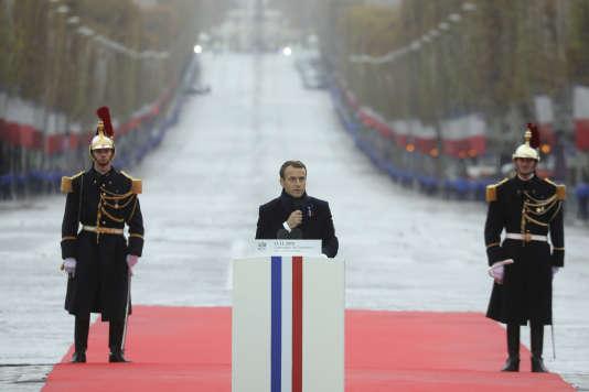 11-Novembre : Emmanuel Macron en héraut de l'ouverture, de l'Europe et du multilatéralisme