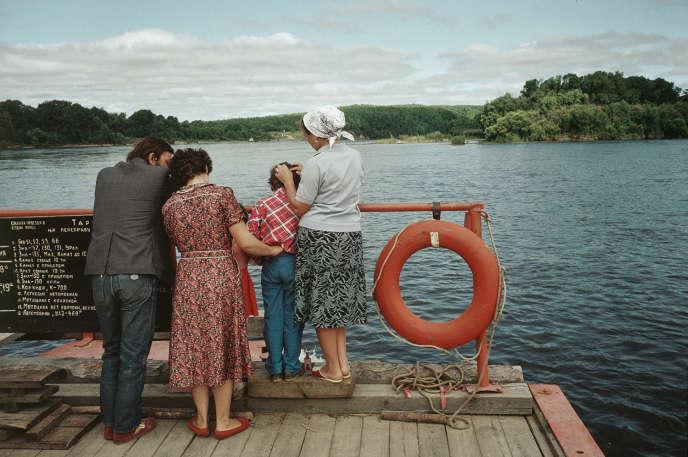 Sur un des affluents du fleuve Amour près de Blagovechtchensk, 1991.