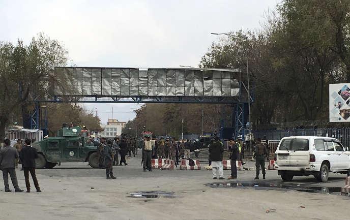 Une explosion s'est produite, lundi 12 novembre, à Kaboul.