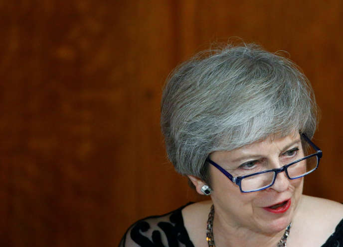 Theresa May, le 12 novembre 2018.