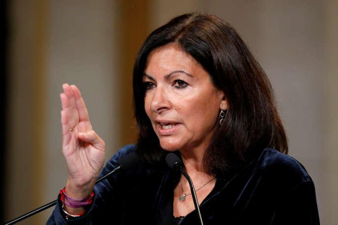 La maire de Paris, Anne Hidalgo, le 12 novembre.