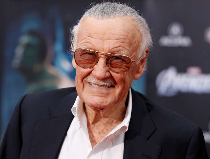 Stan Lee en 2012, à l'avant-première du film «The Avengers».