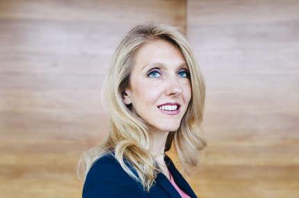 Sibyle Veil, PDG de Radio France, le 12 septembre, à la Maison de la Radio, à Paris.