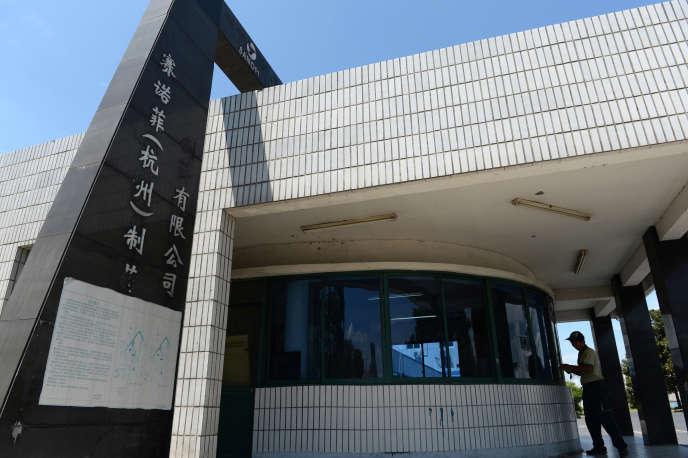 Le site chinois de Sanofi, àHangzhou (Zhejiang), en août 2013.