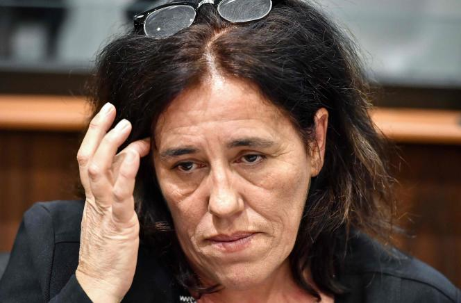 Rosa-Maria Da Cruz, la mère de Séréna, au premier jour du procès à Tulle.