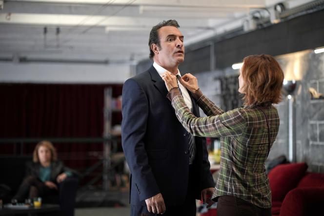 Jean Dujardin dans la troisième saison de la série « Dix pour cent ».