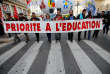 Manifestation dans les rues de Marseille, le 12 novembre.