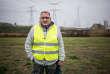 Patrick Mercher, 52 ans, « gilet jaune» présent lors d'un rassemblement à Torcy (Seine-et-Marne), le 10 novembre.