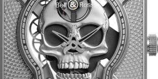 BR01 Laughing Skull, Bell & Ross.