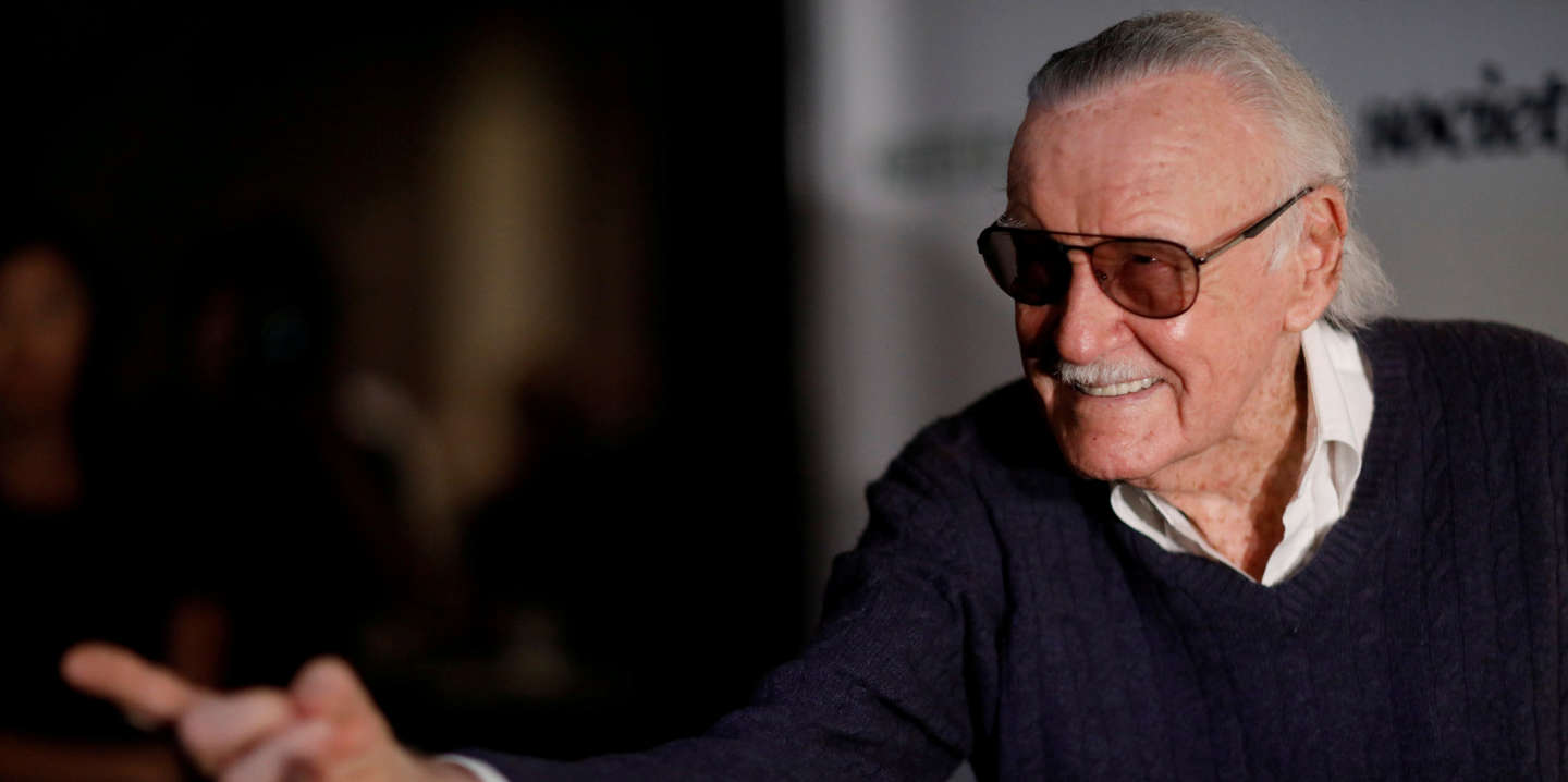 FILE PHOTO - Marvel Comics co-creator Stan Lee poses at a tribute event