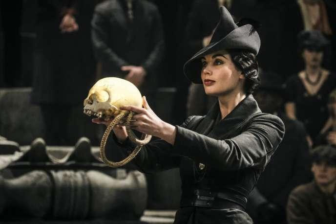 Poppy Corby-Tuech dans«Les Animaux fantastiques : les crimes de Grindelwald» («Fantastic Beasts: The Crimes Of Grindelwald»), de David Yates.
