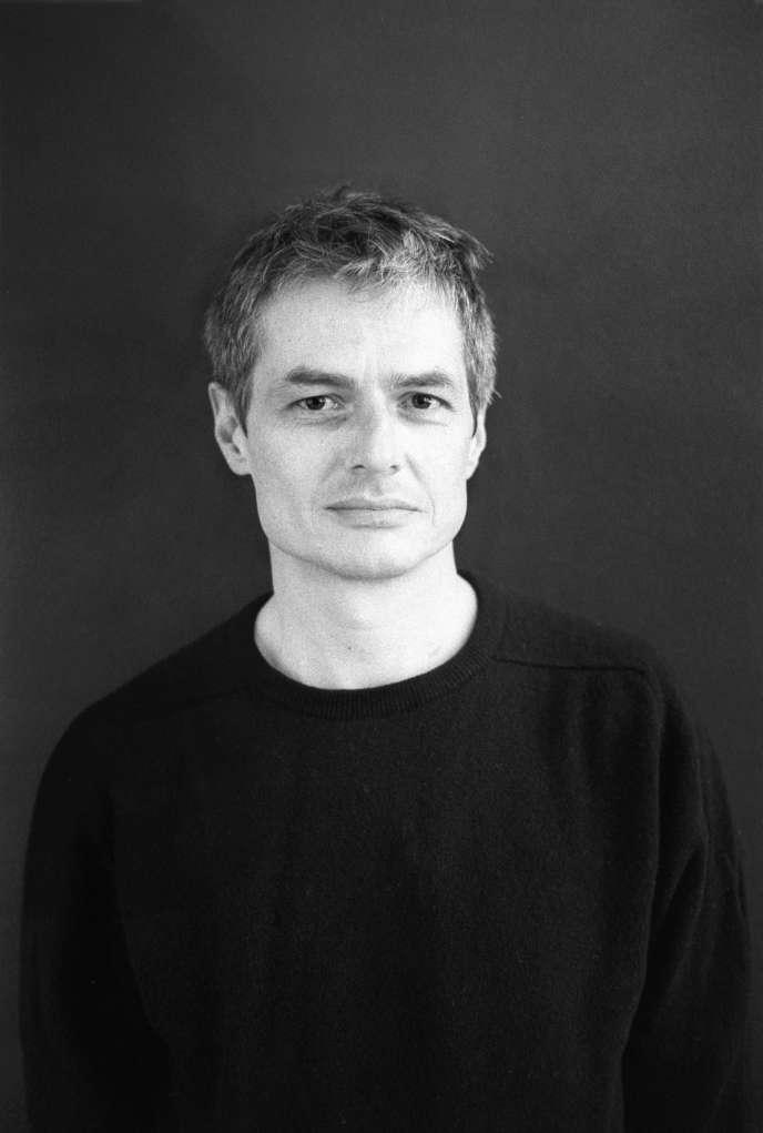 Pierre Alferi, à Paris, en mars 2009.