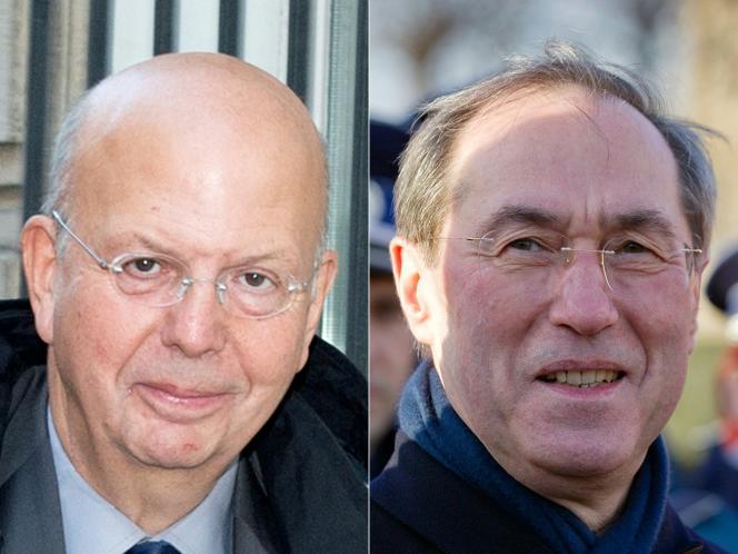 Patrick Buisson et Claude Guéant, deux des plus proches conseillers de Nicolas Sarkozy pendant sa présidence (2007-2012).